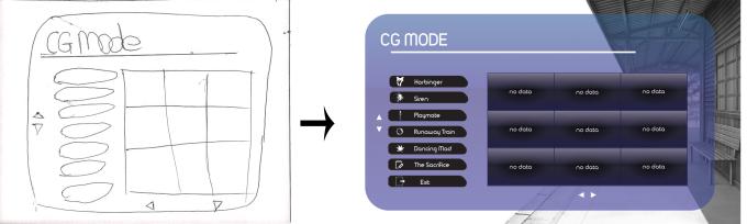 CG mode mod