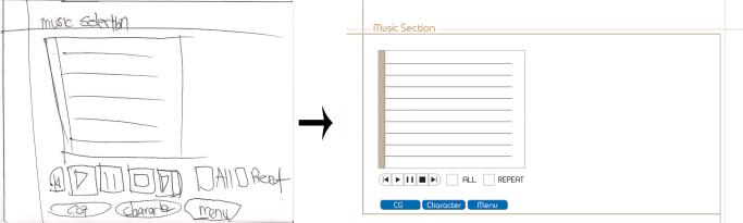 music selction mod