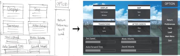 RPG display option
